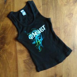 Motionwear Girls M Gymnast Tank Shirt